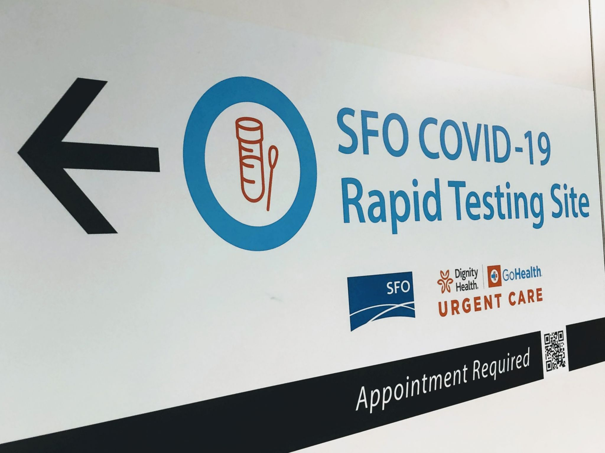 San Francisco first US airport to launch rapid COVID-19 testing