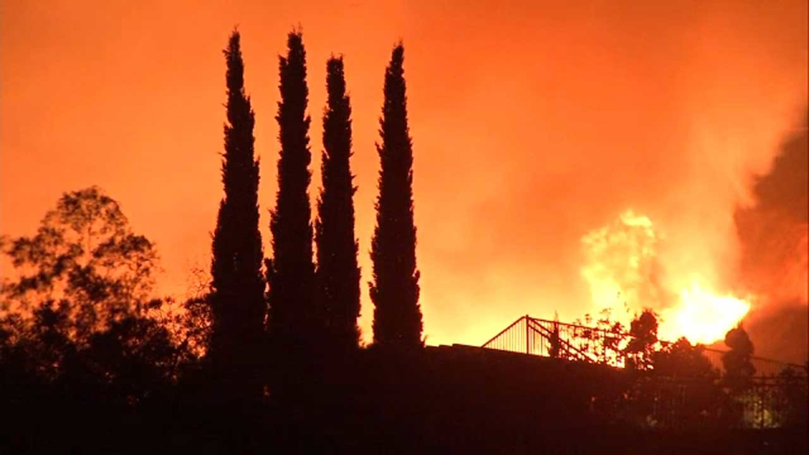 California fires affecting tourism destinations from Big Sur to Santa Cruz to Napa and Sonoma counties