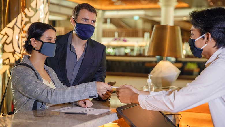 Face coverings, request-only service: Travelers cite priorities for hotel stays