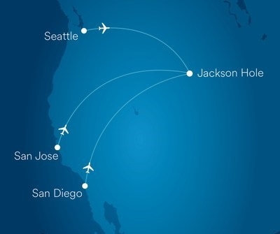 Alaska Airlines announces new nonstop flights to Jackson Hole