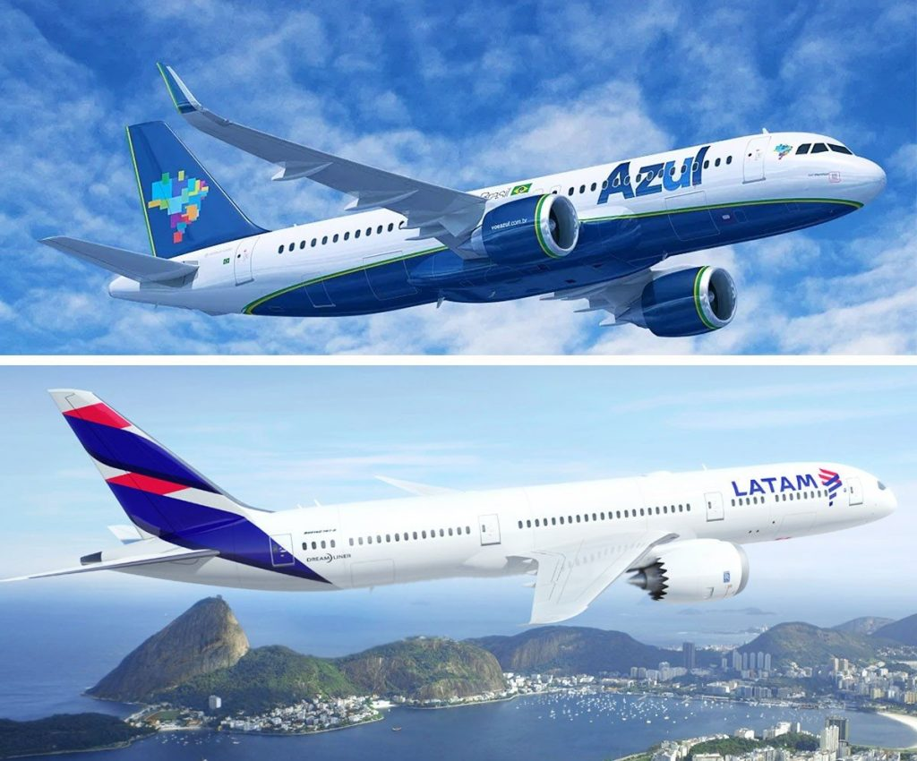 Azul and Latam commence codeshare in Brazil