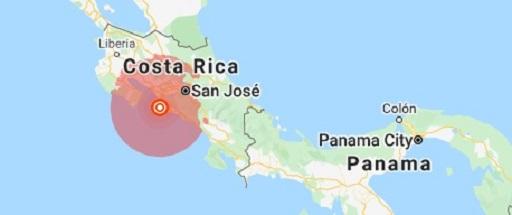 Earthquake rocks Costa Rica's capital city