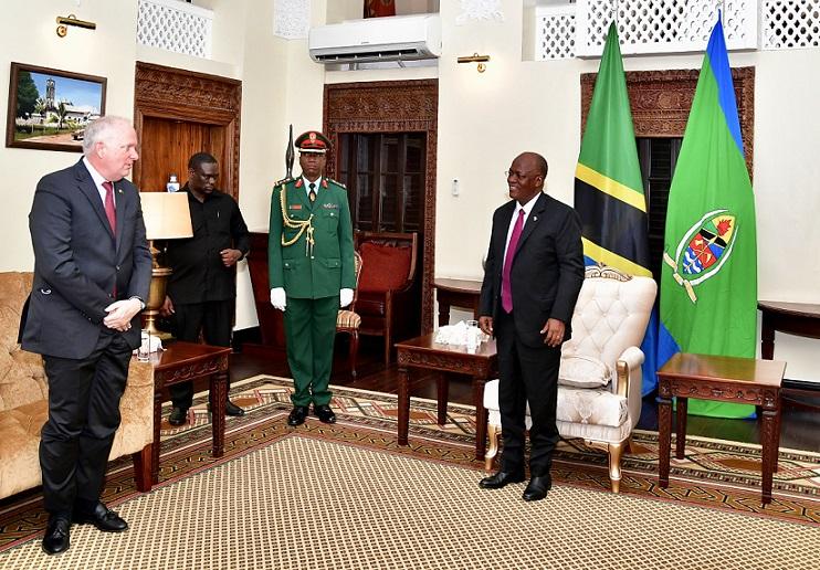 New US Ambassador to Tanzania Finally Starts Tour of Duty