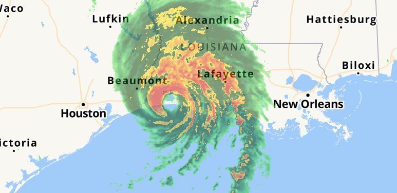 Monster Hurricane hits Louisiana with 241 km/h winds