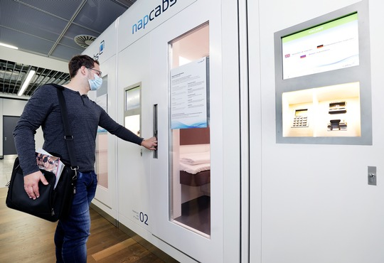 NapCabs Offer Peace and Privacy