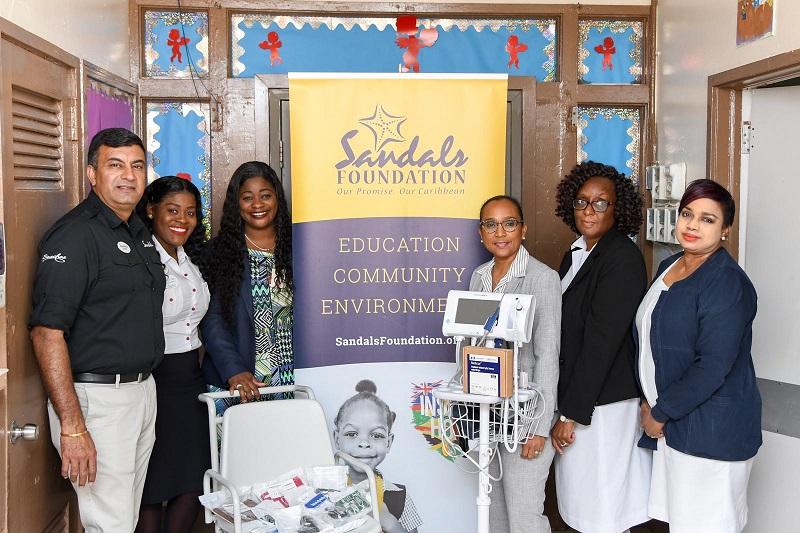 Sandals Foundation Gifts Princess Margaret Hospital Pediatric Ward