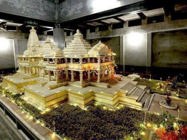 Rebuilt India Temple Set to Boost Tourism