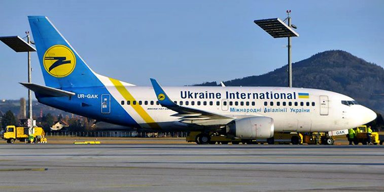 Ukraine International Airlines: Toronto, New York, Delhi Relaunching