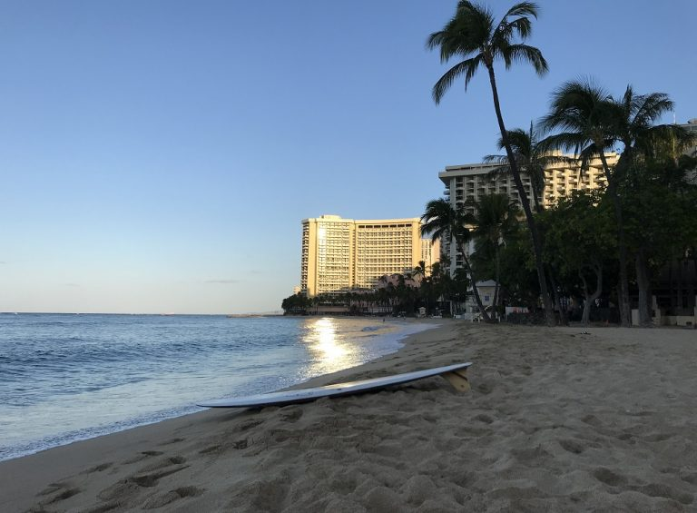 Hawaii hotels report substantially lower revenue and occupancy