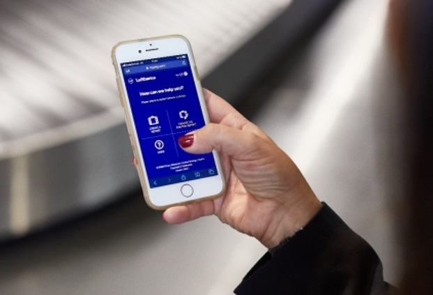 Lufthansa launches contactless way to report delayed baggage from mobile device