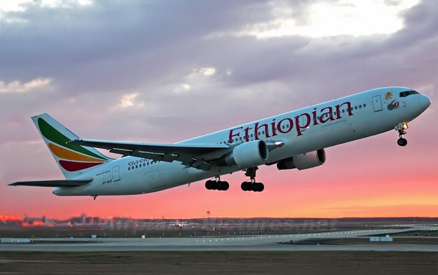 Ethiopian Airlines resumes flight to Victoria Falls