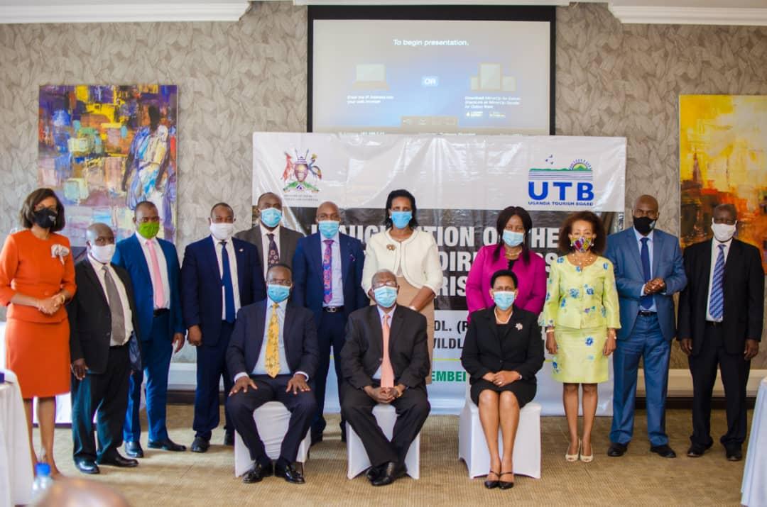 Tourism Minister inaugurates new Uganda Tourism Board Directors
