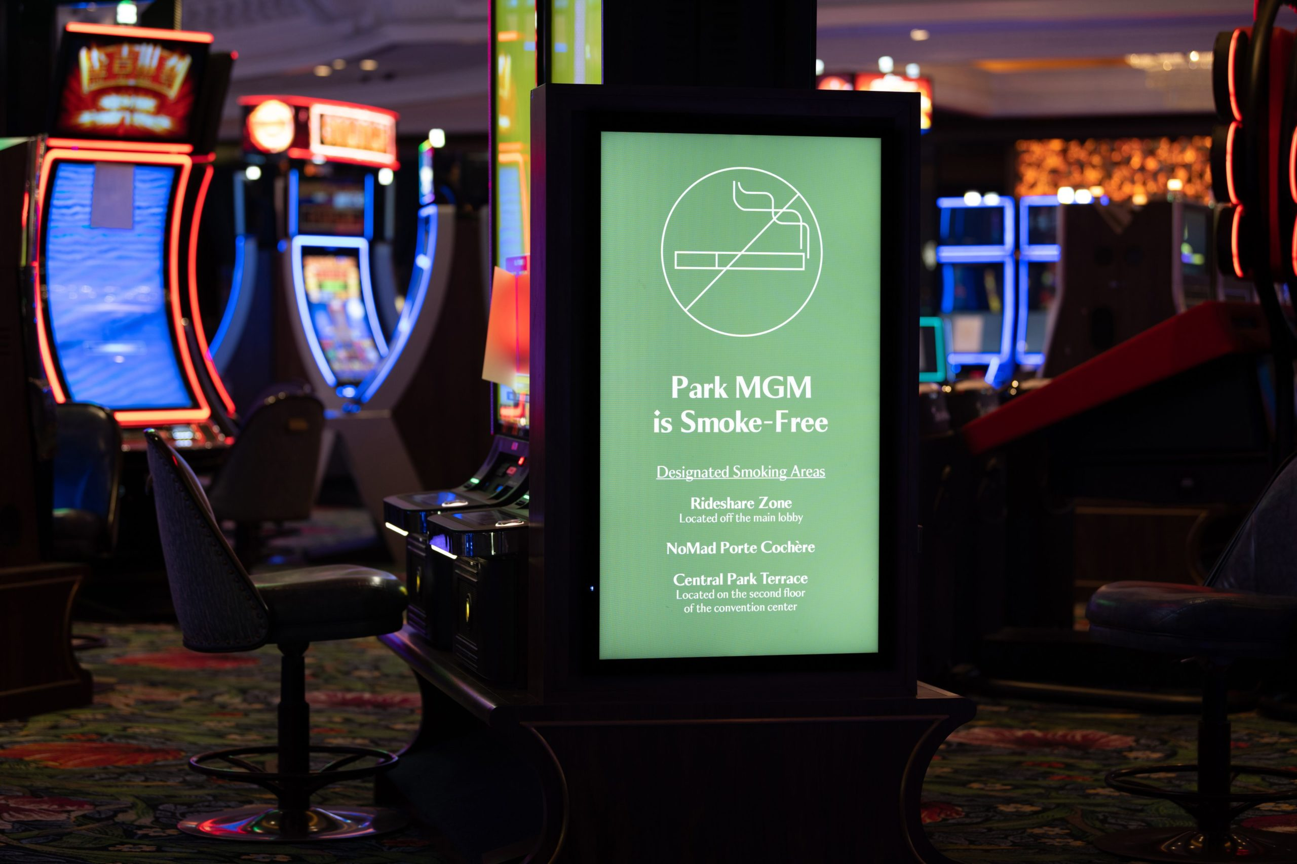 MGM Resorts announces Las Vegas' first smoke-free casino