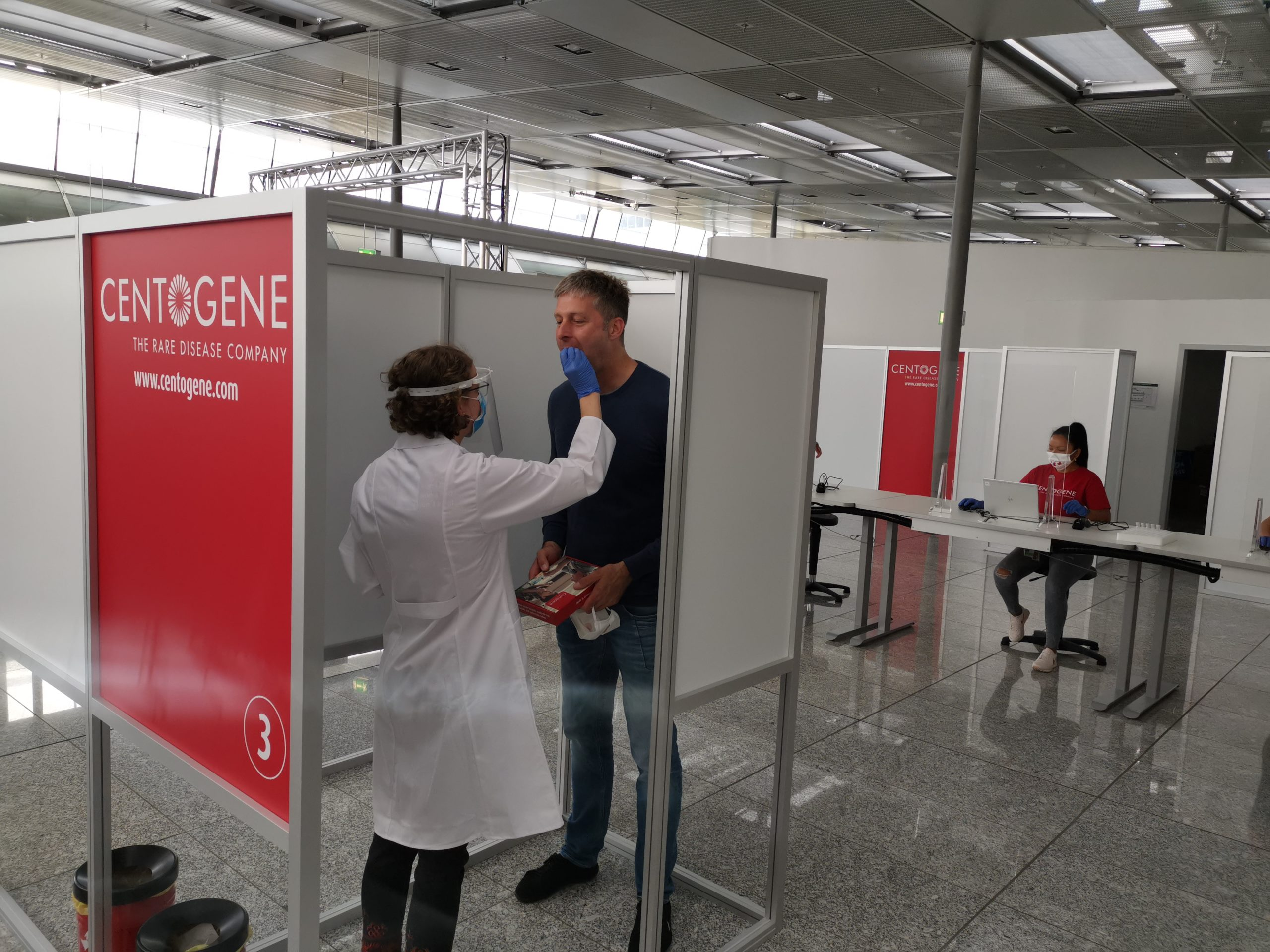 PCR tests at Frankfurt Airport: CENTOGENE and Lufthansa take positive balance at the end of summer