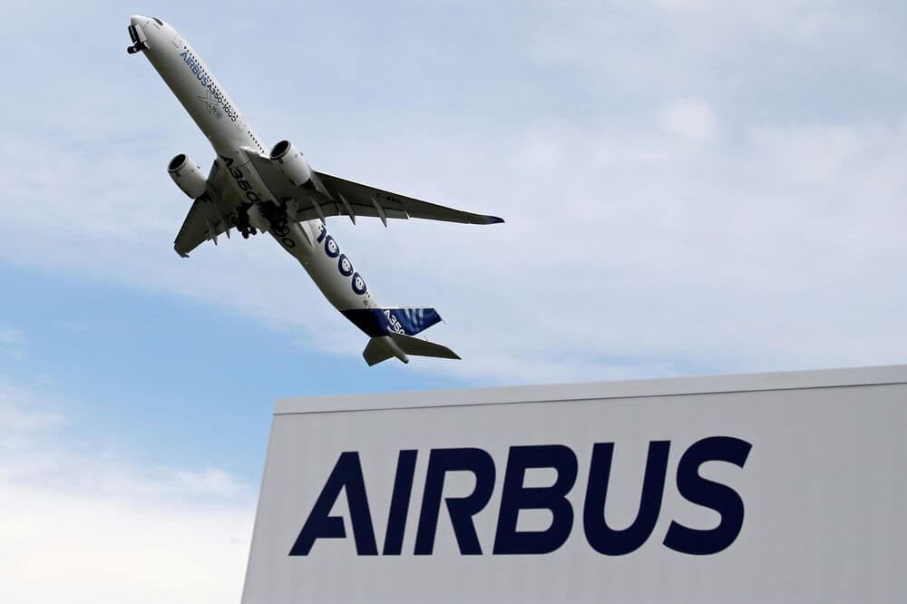 Airbus: 303 net aircraft orders by September 2020
