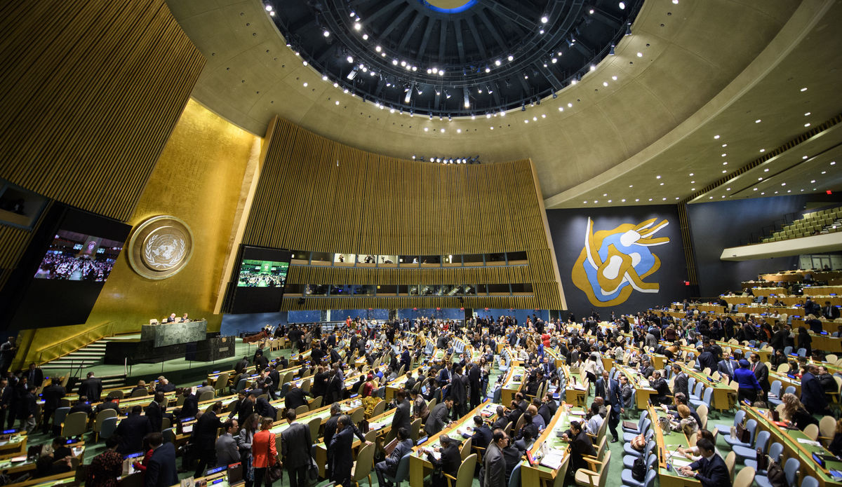 UN General Assembly calls for global cooperation on COVID-19