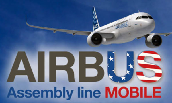 Airbus marks five years of US aircraft production