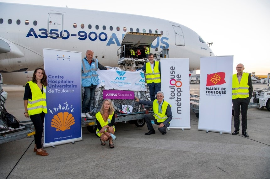 Airbus Foundation delivers humanitarian aid to Beirut