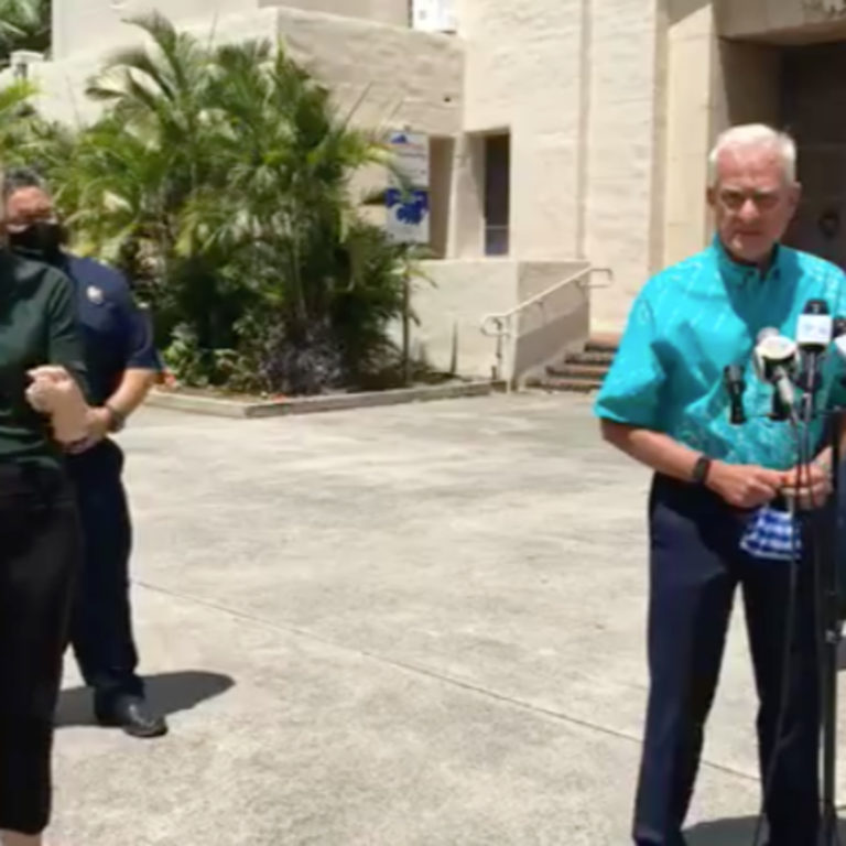 Honolulu Mayor Caldwell disagrees with US Travel and extends Honolulu lock down for 2 more weeks