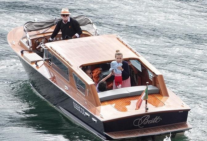 Carrie Symonds in Lockdown on Lake Como?
