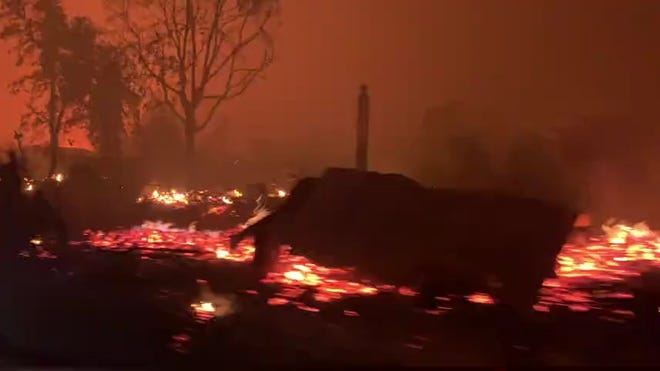 More than half million evacuated due to Oregon wildfires