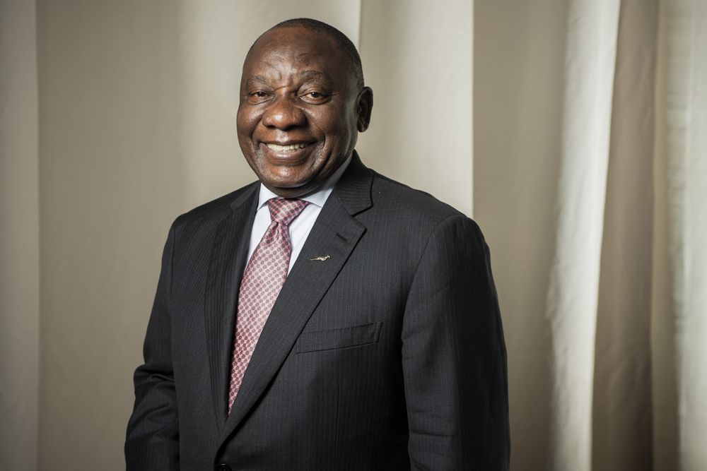South African President Ramaphosa  update on COVID0-19