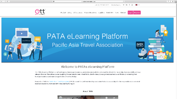 PATA online training is now free
