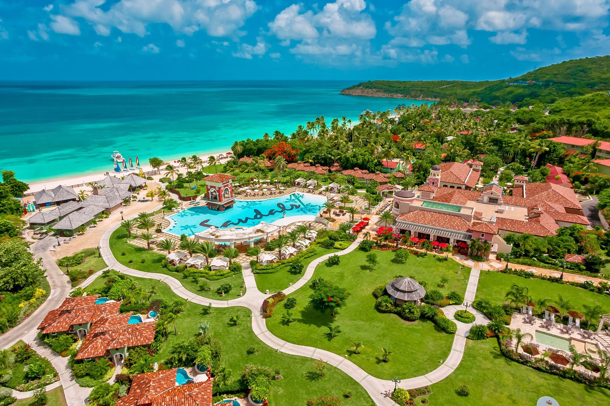 Sun, Sand and Social Distancing at Sandals Resorts