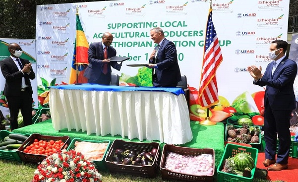Ethiopian Airlines partners with USAID on in-flight meals