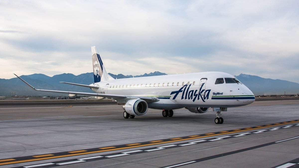 Alaska Airlines launches Embraer 175 service in Alaska