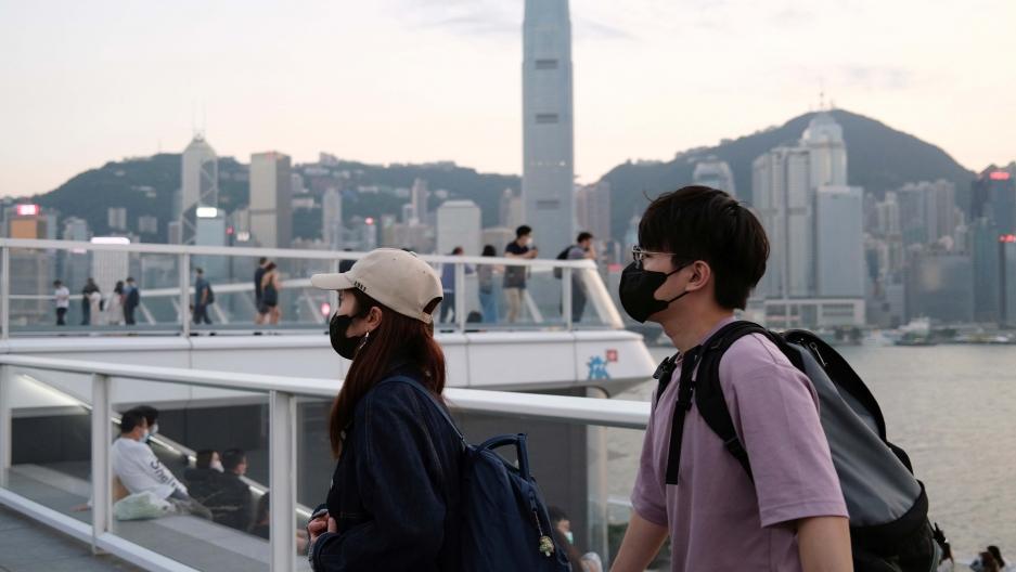 Hong Kong announces health code plan for cross-border travel