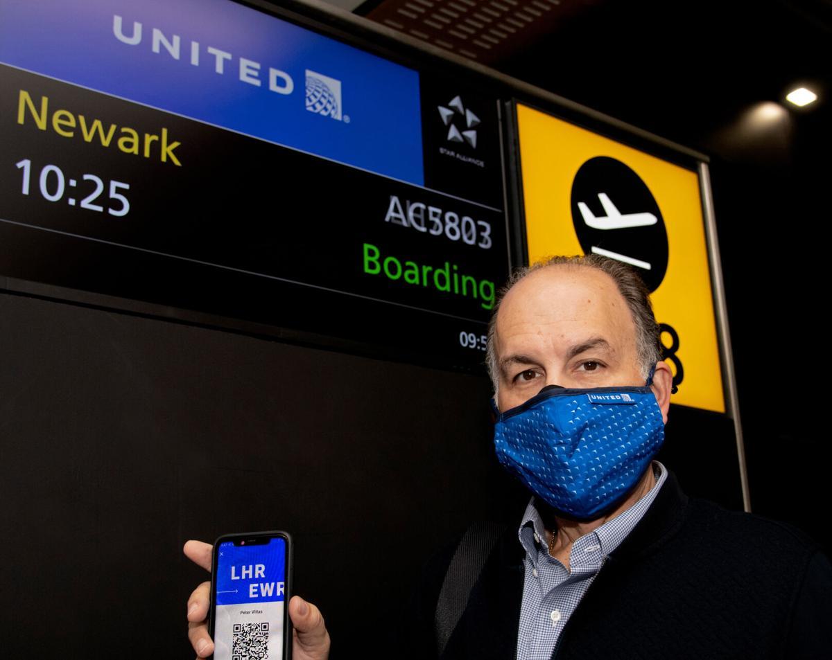 First international flight utilizing CommonPass digital health system arrives to US