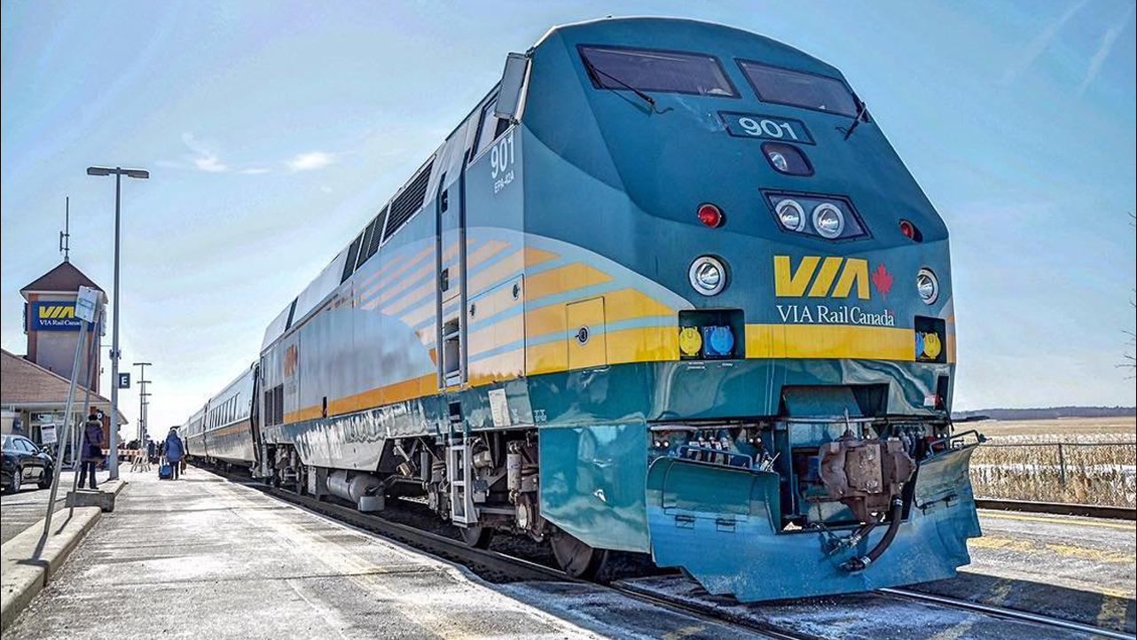 VIA Rail gradually resumes service in Western Canada