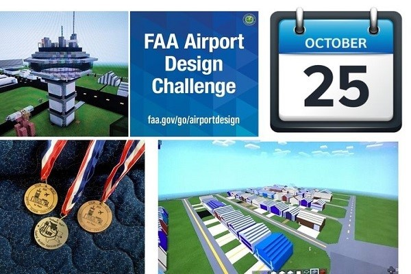 FAA virtual airport design challenge takes off