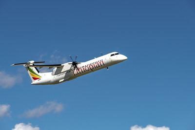 De Havilland Canada delivers two Dash 8-400 aircraft to Ethiopian Airlines