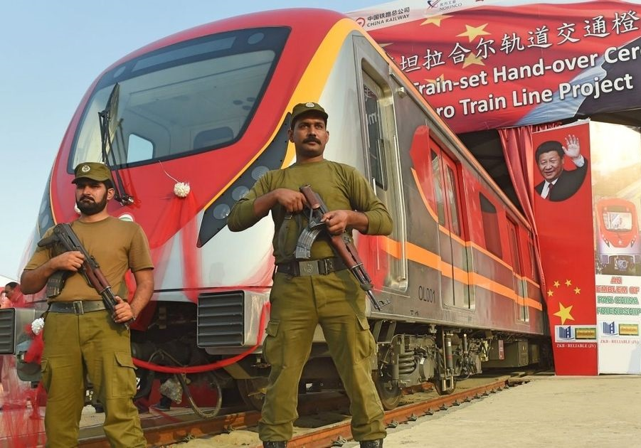 Pakistan launches its first ever metro train line built by China