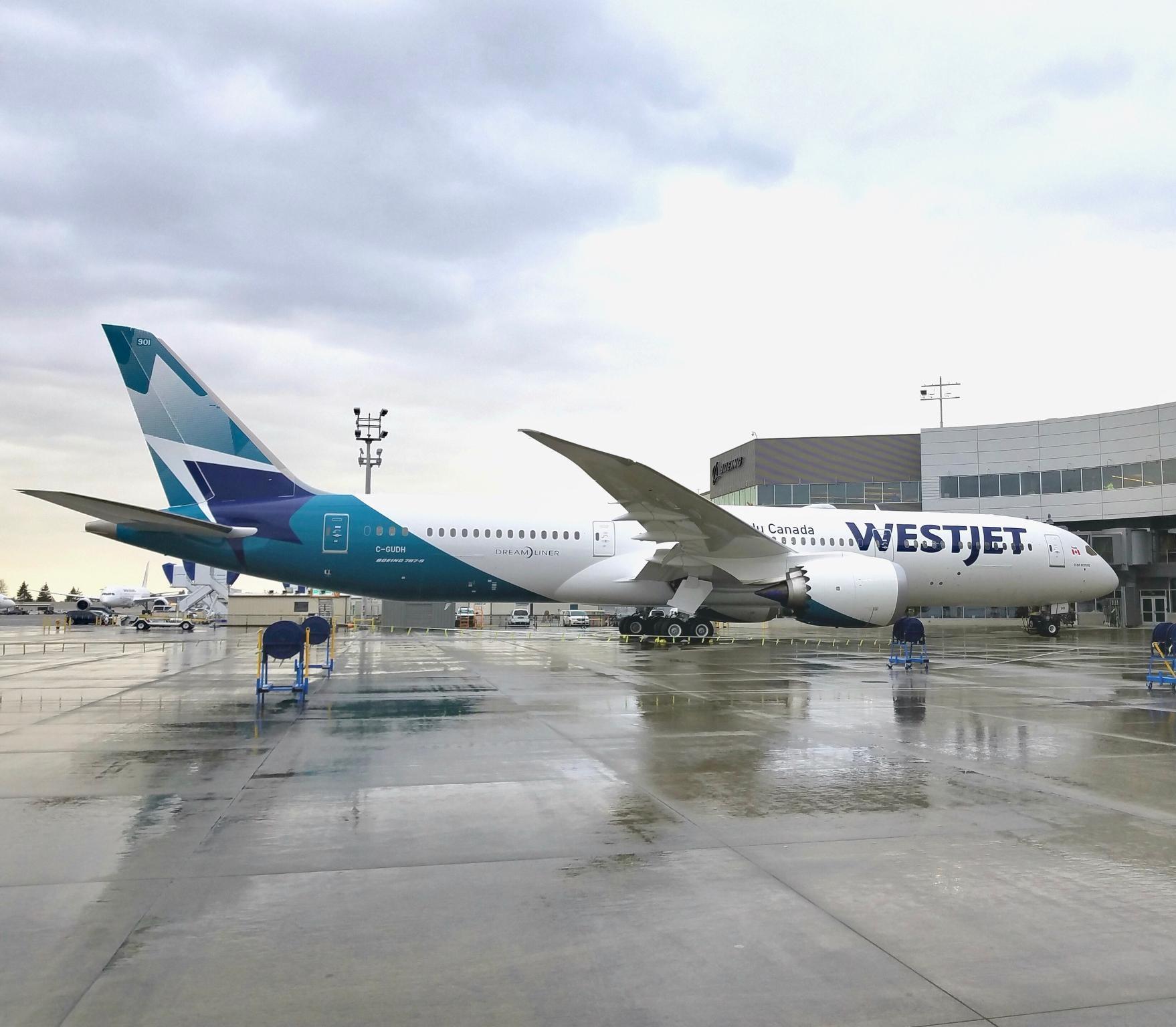 WestJet introduces its Boeing 787 Dreamliner to Vancouver