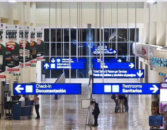 ASUR airport group: Passenger traffic down 58.6% in September