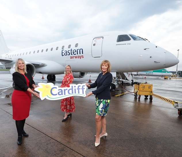 Belfast City Airport reconnects Northern Ireland and Wales with Cardiff service