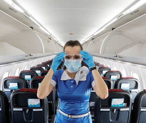 How high is the risk to catch Coronavirus on a plane? IATA's secret