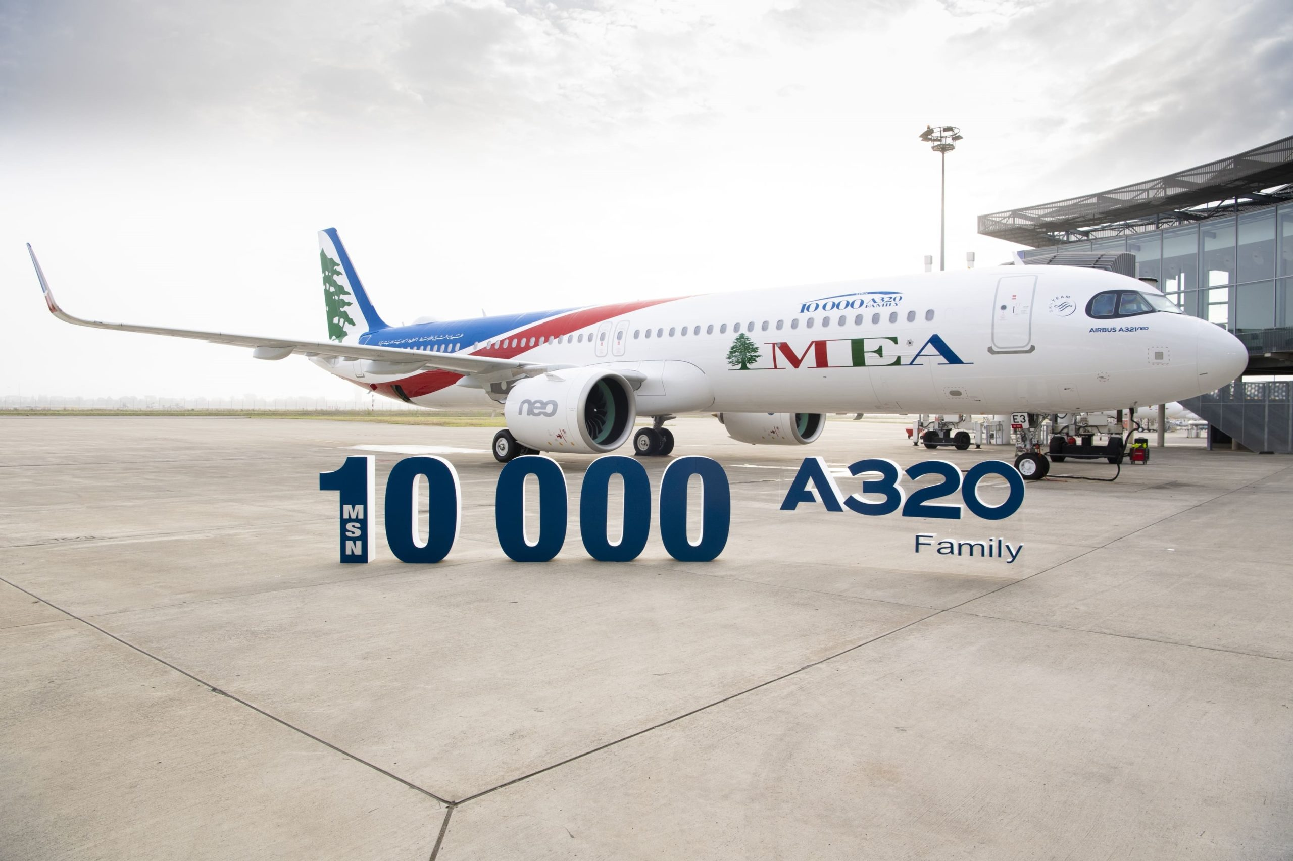 Airbus delivers third A321neo aircraft to Middle East Airlines