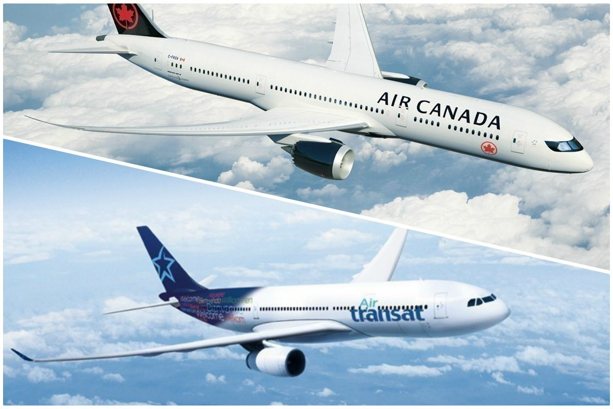 Air Canada and Transat A.T. Inc. conclude amended transaction for combination of two companies