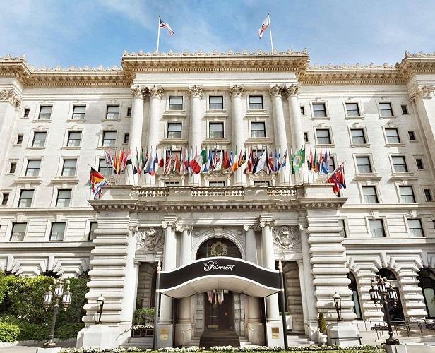 The Fairmont Hotel: Nob Hill Grande Dame