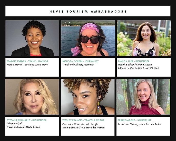Nevis Tourism Launches Ambassador Program