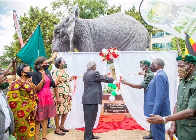 Uganda Tourism Minister Unveils Wildlife Street Kampala