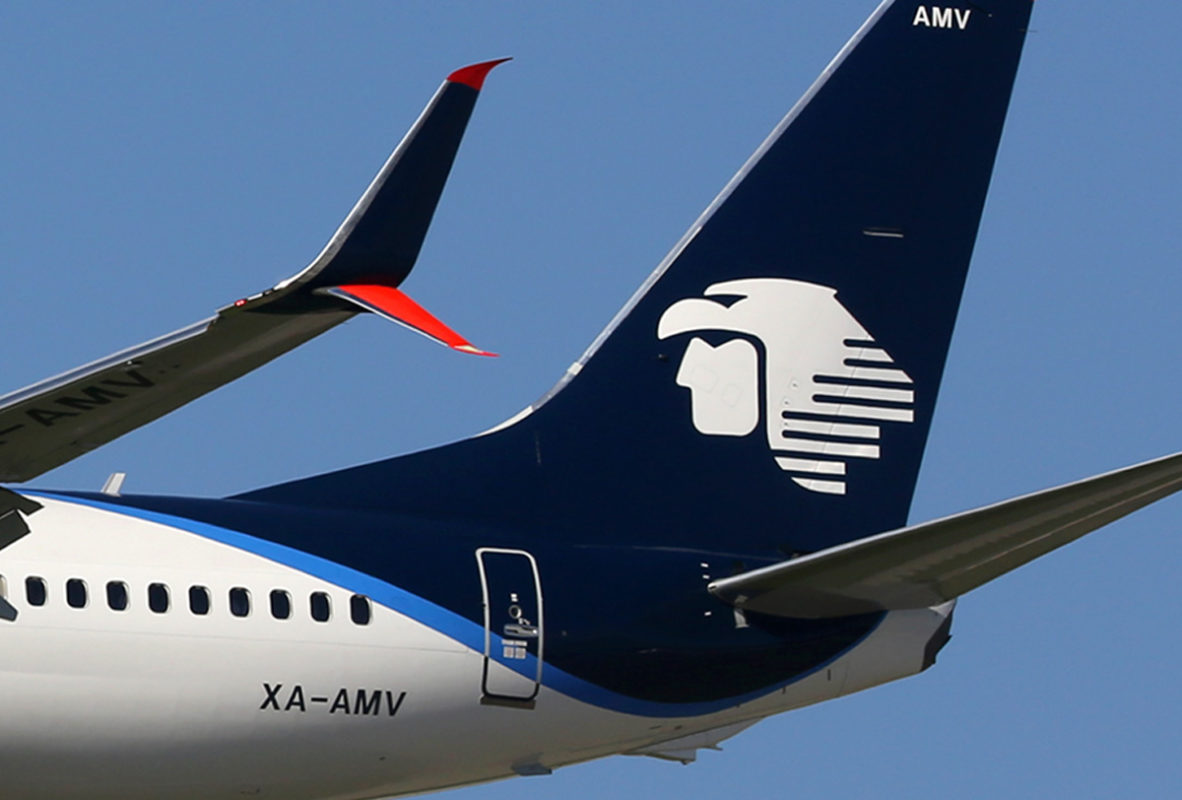 Aeromexico: Passenger numbers up 22.9% in October