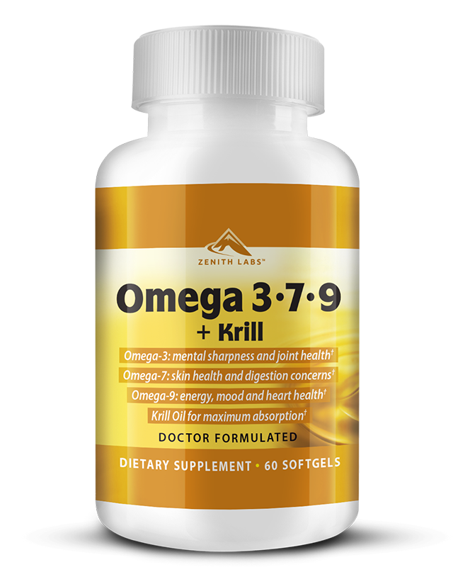 Zenith Labs Omega 3-7-9+Krill Review-Updated Report Leaked!
