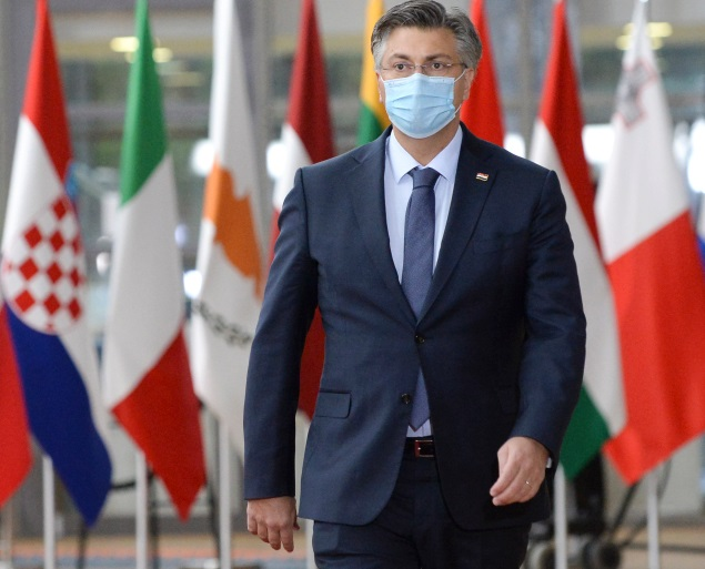 Prime Minister of Croatia test positive for COVID-19