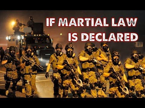 Is President Trump about to impose Marshall Law in the United States?