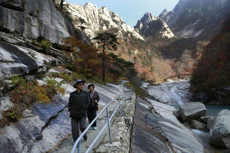 North Korea to develop mountain tourism
